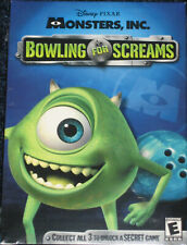 NEW Disney Pixar Monsters, Inc. Bowling for Screams Game MAC or PC Free Ship!