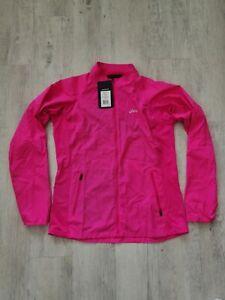 ASICS Pink Glow Running Jacket Large
