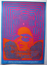 1967 BIG BROTHER JANIS JOPLIN FAMILY DOG AVALON FILLMORE CONCERT POSTER FD 93-1