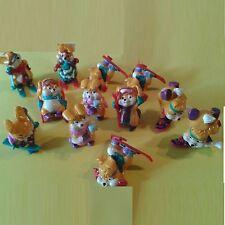 Lot de 12 figurines Kinder Lapins : les Ski Bunnies