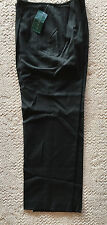 Harve Bernard Black Wool Dress Pant  Lined  New w/ Tags  Pleated Front  12