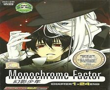 DVD Monochrome Factor (TV 1 - 24 End) DVD + Free Gift