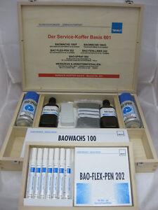Bao-Service-Koffer aus Buchenholz für die Möbelmontage - 1 Basis-Koffer