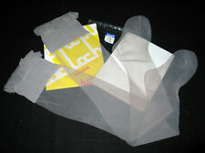"""BAS STAY-UP T 4 """"BLOCH"""" GRIS CLAIR NYLON VOILE SEXY SATINé CHARME TOP DENTELLE"""