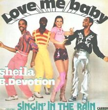 SHEILA AND B. DEVOTION - LOVE ME BABY disques carrere Y 67.187  1977 LP FRA