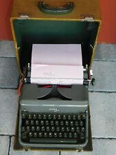 vintage MACHINE à ECRIRE HERMES 2000 PAILLARD suisse Schreibmaschine WRITING