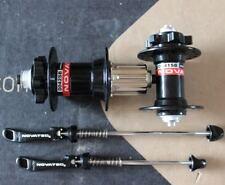 NOVATEC Hub 32H Mountain Bike disc brake 4 Bearings Hubs +skewers front rear set