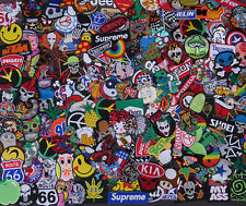 Mix Lot of 50 Wholesale Random Iron On Patch Sew Motif Embroidered