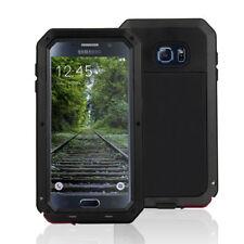 Housses et coques anti-chocs Samsung Galaxy S6 en métal pour téléphone mobile et assistant personnel (PDA)