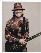 Carlos Santana with Signature PRS guitar 8 x 11 pin-up photo 3a