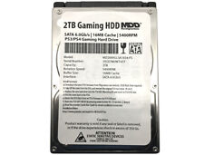 "MaxDigitalData 2TB 5400RPM 16MB SATA 6Gb/s 2.5"" Internal Gaming PS4 Hard Drive"