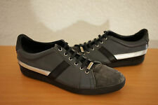 Dior Homme Runway Black Leather trainer runners Sneakers shoes 44 US 11