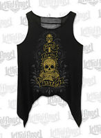 T Shirt tattoo Skull Motorcycle no Harley Biker Tank Top lethal threat here for