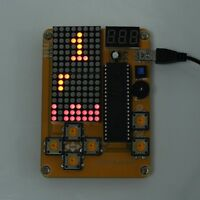 DIY Kit Game Creative Electronics Experiment Kits for Tetris/Snake/Plane/Racing
