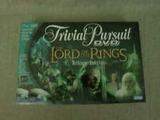 Trivial Pursuit Lord of the Rings Trilogy Board Game 2 DVD'S Sealed Parker Bros