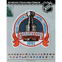 1991 NHL Stanley Cup Jersey Patch Pittsburgh Penguins Minnesota North Stars