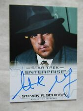 STAR TREK ENTERPRISE SEASON 4 AUTOGRAPH CARD - STEVEN R.SCHIRRIPA AS CARMINE