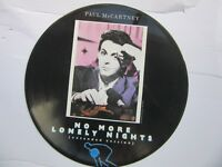 Paul McCartney--Picture Disc--No More Lonely Nights''  ---Beatles