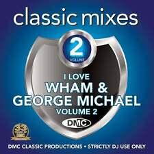 DMC Wham and George Michael Vol 2 Megamixes & 2 Trackers Mixes Remixes DJ CD