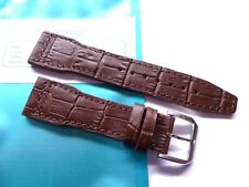 Strap in 22mm - Brown Leather 22/18mm - Pilot Flieger b-uhr - IWC Style