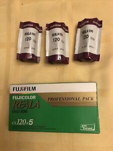 8 Rolls Fujicolor Reala 100 CS 120 Expired Film Cold Stored