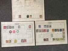 lot Suisse 32 stamps Switzerland 1862 1867 ===> 1882 + télégraphe enveloppe taxe