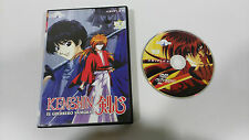 KENSHIN EL GUERRERO SAMURAI DVD VOL 18 CAP 53-55 + EXTRAS MANGA SELECTA VISION