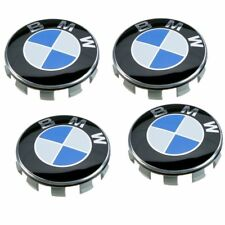 4 Tappi Coprimozzi Borchie BMW E81 E83 E82 E87 E88 E90 E91 E92 E93 F20 F21 68MM