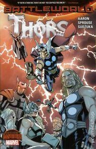 Thors TPB Secret Wars: Battleworld #1-1ST NM 2016 Stock Image