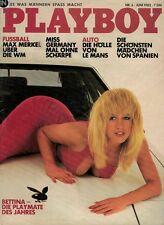 Playboy 6,06/1982 Juni,Kimberly Mc Arthur,Barbara Carrera,Bettina Mey,GUT