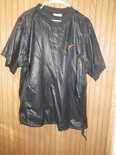 Blazer Baseball Warm Up Top Short Sleeve  Size XL - Black - University Of Texas