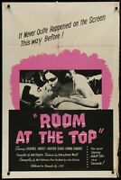 Room at the Top Lawrence Harvey 1959 ORIGINAL 1 SHEET MOVIE POSTER 27 x 41 v