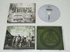 Born From Pain / Survival (Metal Blade Records 3984-14709-2) CD Album