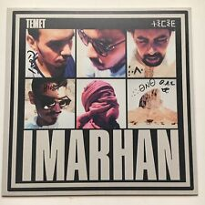 IMARHAN - TEMET HAND SIGNED RECORD AUTOGRAPHED