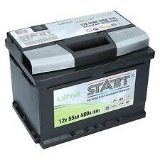 Original Extreme Ultra 12V 55 Ah 480A/EN 55Ah Premium Batterie NEU |+ RECHTS