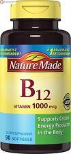 Nature Made Vitamin B-12 1000 Mcg 90 Softgels