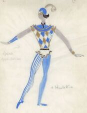 Harlequin Costume Design from GDR Time, unique