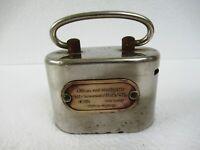 Vintage Metal Money Bank Coin Box Allianz Und Stuttgarter Life Insurance Bank*F4