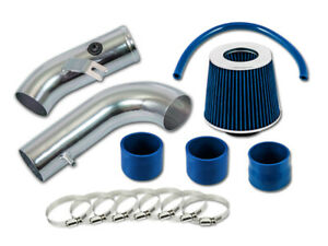 GSP Blue Short Ram Air Intake Kit + Filter 99-05 Miata MX5 Roadster NB 1.8
