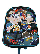 """A02638 Phineas and Ferb Large Backpack 16"""" x 12"""""""