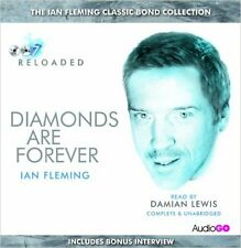 Diamonds are Forever by Ian Fleming - Audio CD, unabridged NEW SEALED
