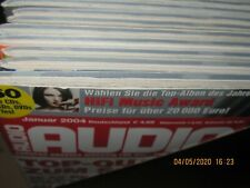 Audio Hifi Magazin Zeitschrift ,kompletter Jahrgang 2004 Heft 1-12