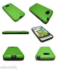 LG Optimus L70 (Metro PCS) Dual case cover also fits Optimus Exceed II Green
