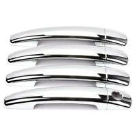 Pour Peugeot 207 308 407 408 3008 C4 C6 Caches Chrome Couvres Poignée Portière