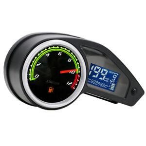 Motorcycle Odometer LED Digital Speedometer Tachometer Waterproof Accessories