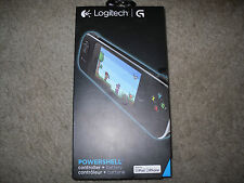 Logitech Powershell 940-000151 Controller W/ Battery For iPhone 5/iPod Touch New