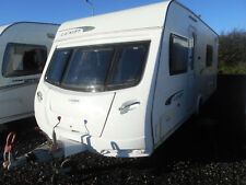 LUNAR LEXON 540 LUXURY FUXED BED WITH END WASHROOM 4 BERTH YEAR 2011