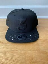 Chance The Rapper 3 Hat New Era Authentic Black on Black Limited Edition - NEW