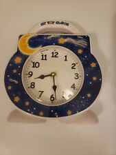 My Tot Clock Toddler Sleep Alarm Clock All In One No Cartridge - Tested & Works