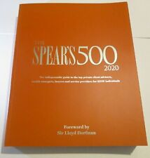 The Spear's 500 202 Edition Guide
